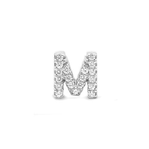 925b41d67573 Colgante en plata de ley letra M – Joyería acebo – Joyerías en León